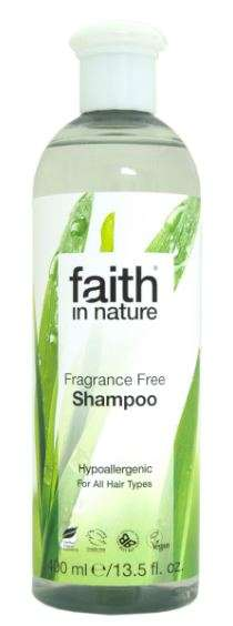 Faith in Nature Illatmentes Sampon 400ml