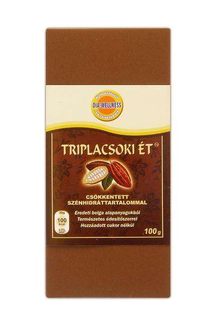 Dia-Wellness Triplacsoki ét 100g